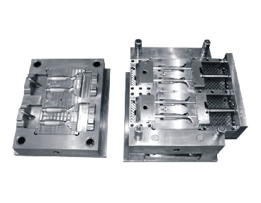 fixed die and moving die of die casting mold