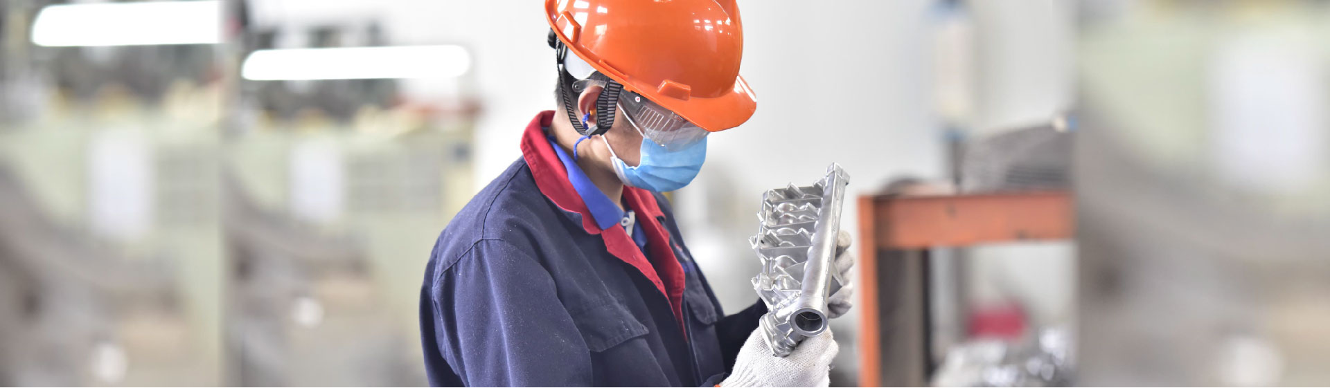 Self-inspection on aluminum die casting production