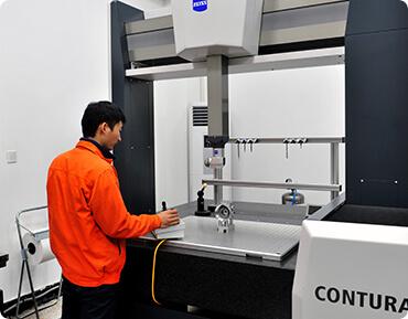 Advanced Zeiss CMM Instrument-Die cast heat sink-Advanced Equipment