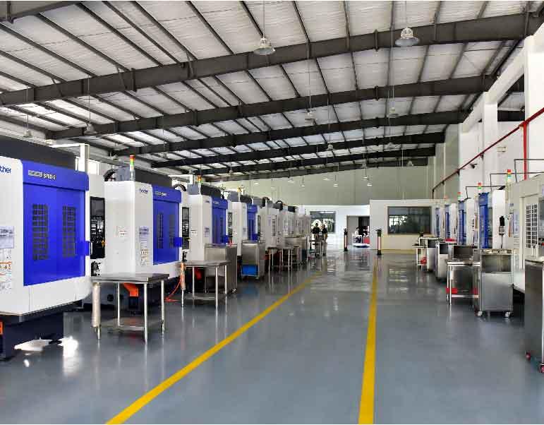 CNC Machining Machinery-Diecast Alloy-Advanced Equipment