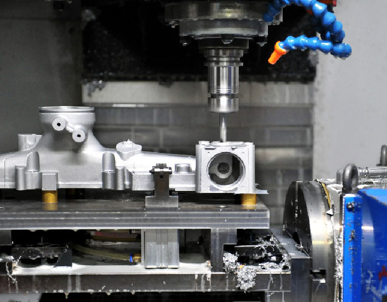 CNC Milling Machining Process-Telecom Casting-Capability