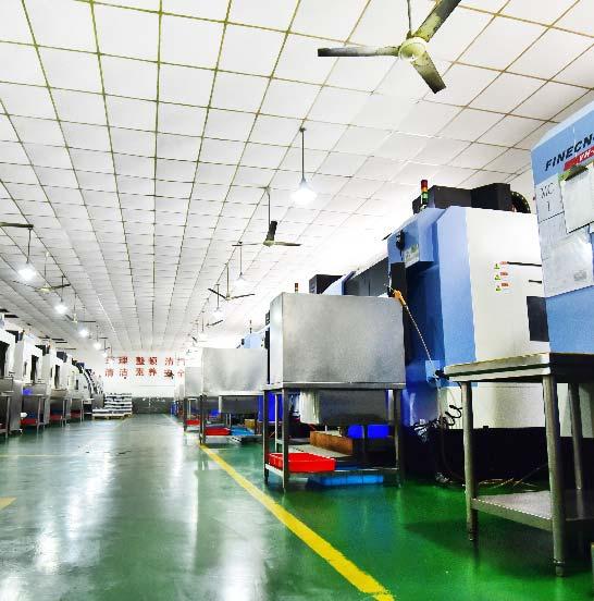 CNC maching Workshop