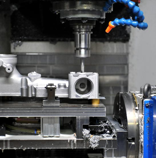 CNC machining for die casting parts-RP-Equipment