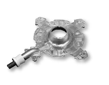 CNC machining operation light holder-CM-Part