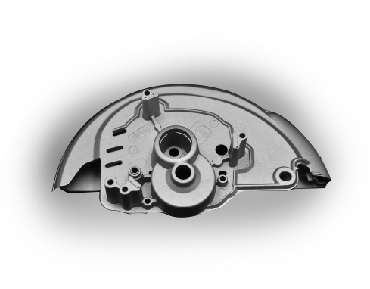Die casting power cover-ADC-Part