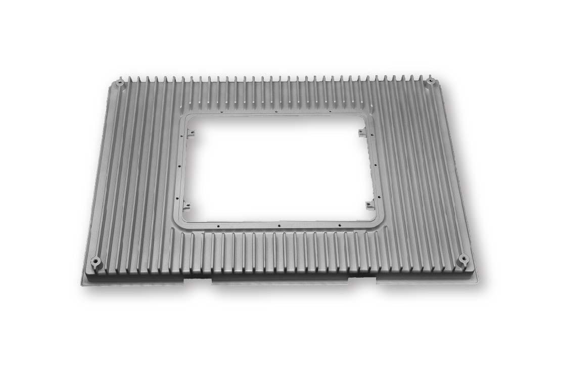 Heat sink Frame-Die cast heat sink-Parts