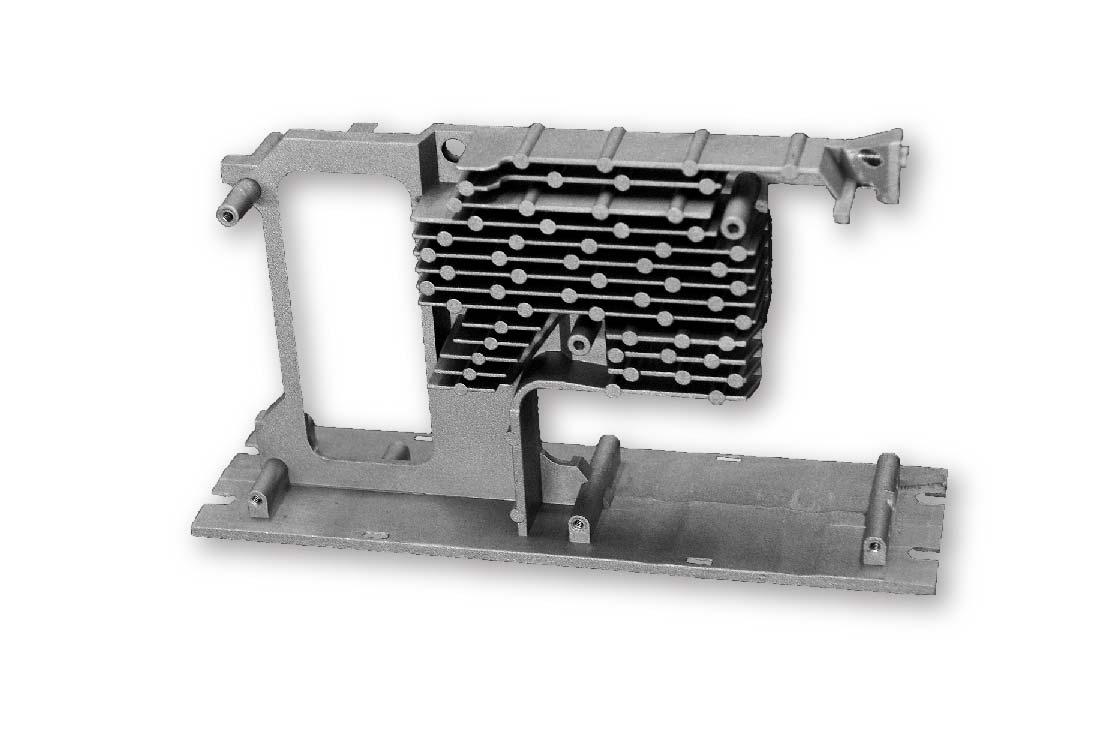 Heat sink Frame product-Die cast heat sink--Parts