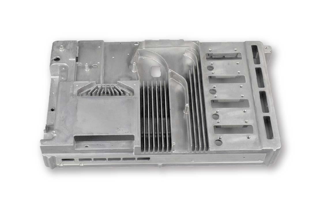 Heat sink component- Die cast heat sink-Parts