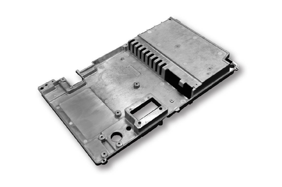 Heat sink plate-Die cast heat sink-Parts