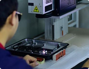 Laser Etching Machinery-Die cast heat sink-Advanced Equipment