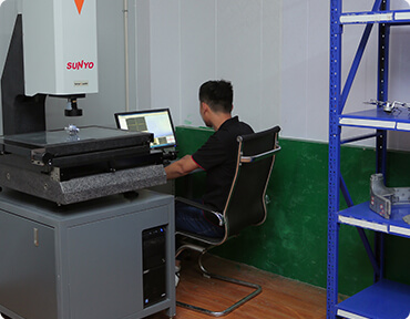On-site Inspect Control for die casting parts