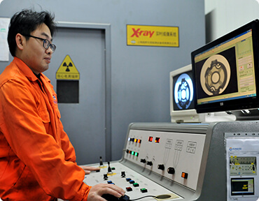 X-Ray Measurement for porosity test of die casting parts