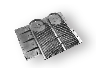 heat sink by die casting tooling-DCT-Part