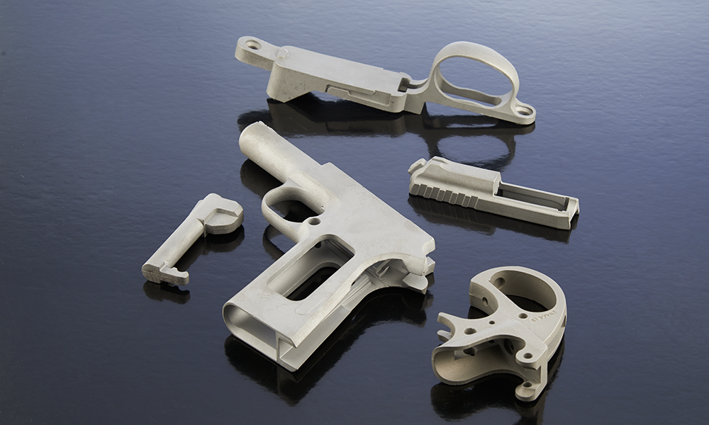 Firearm parts die casting