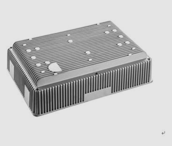 Telecommunication enclosure die casting