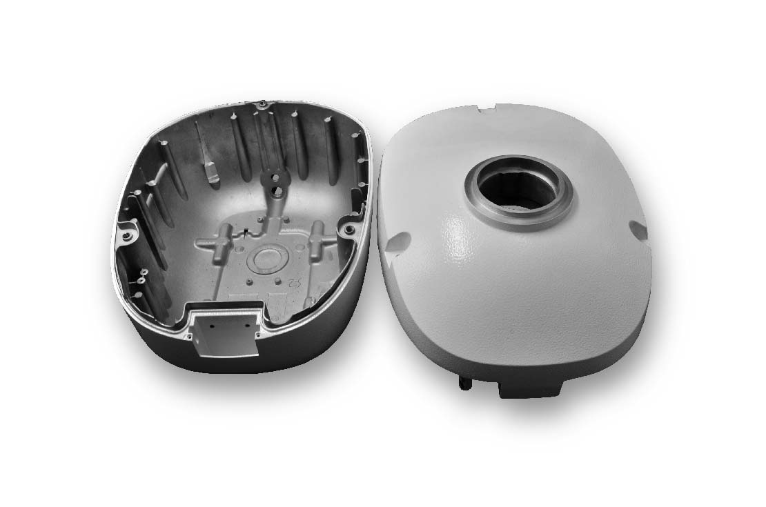 Marine radar housing die casting
