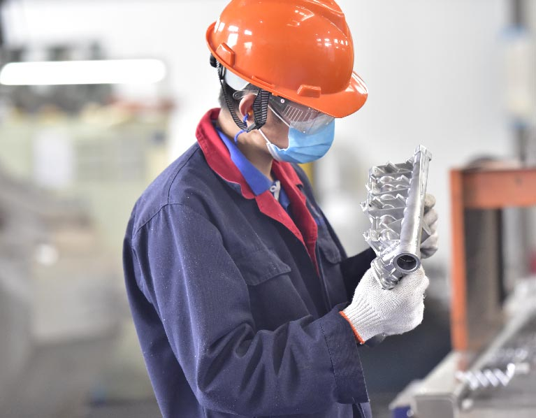 Self-inspection for Casting production-Die Cast Frame-Advanced Equipment
