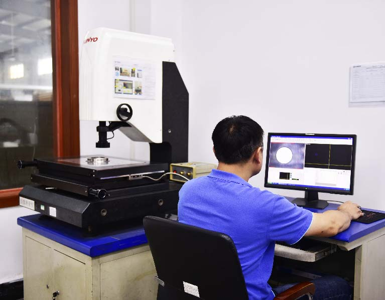 High accuracy Projector for prototype cnc machining quality control