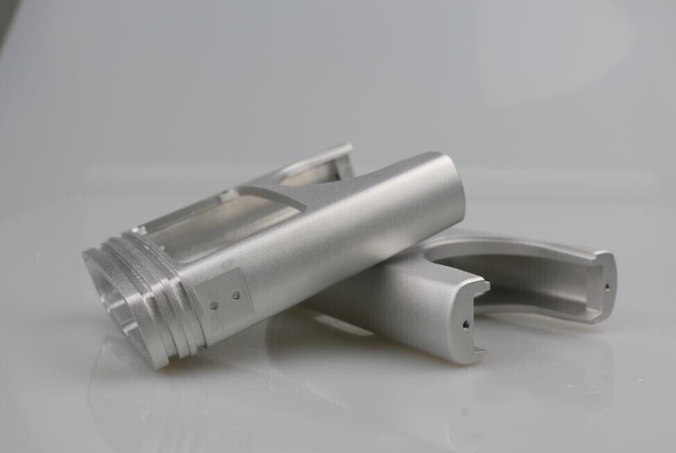Aluminum prototypes manufactured using Rapid Prototyping
