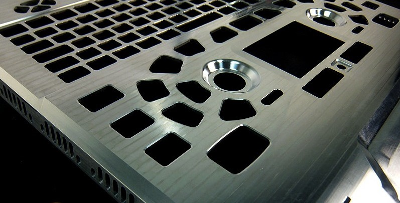 CNC Aluminum Part sample