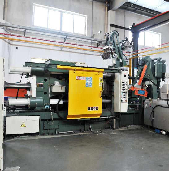 High Pressure Die Casting Machine in Sunrise Metal workshop-Capability