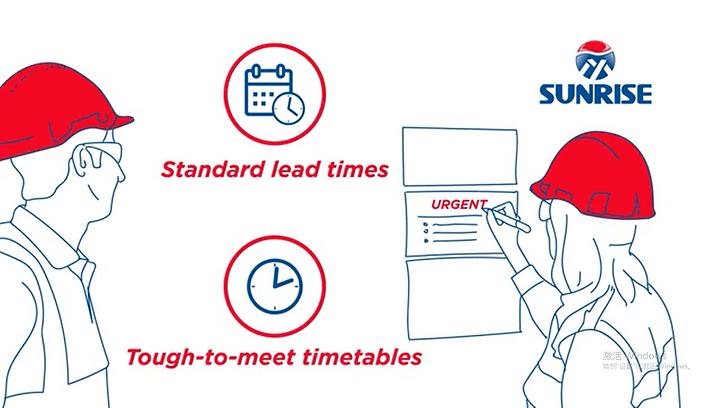 faster lead time-sunrise metal advantage