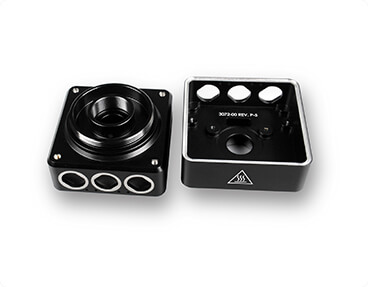 Black-Anodize-Aluminum-Machined-Camera-Housing