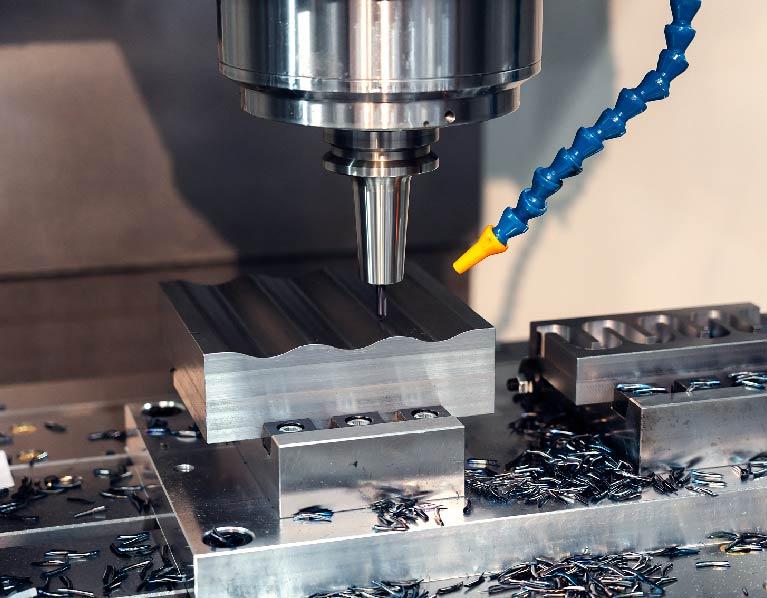 CNC-Milling-Machine-Aluminum-die-cast-Prototypes-Sunrise-Metal
