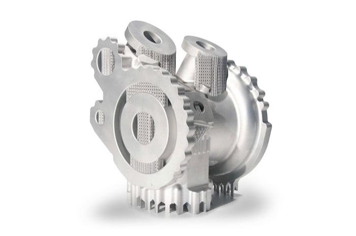 3D printing of complex parts
