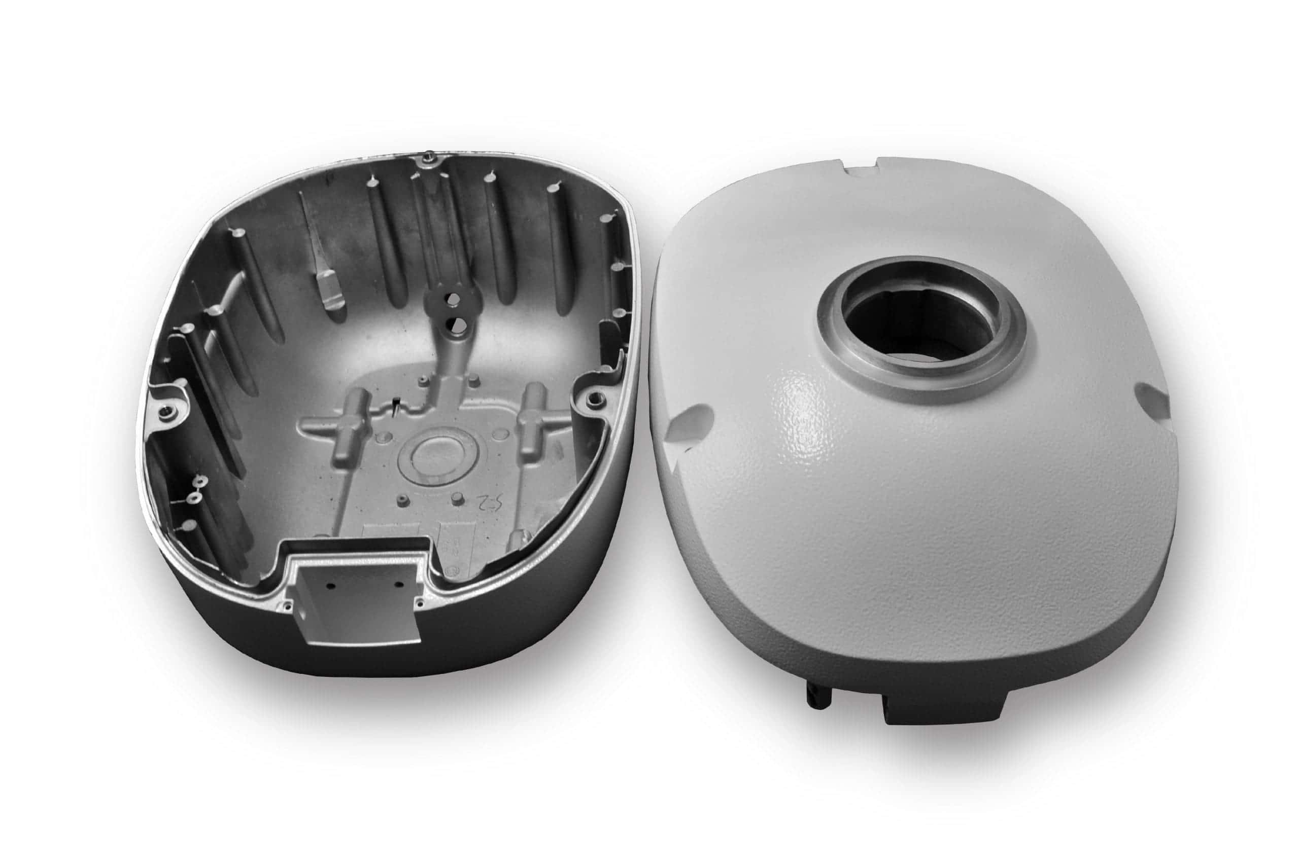Die casting housing for marine