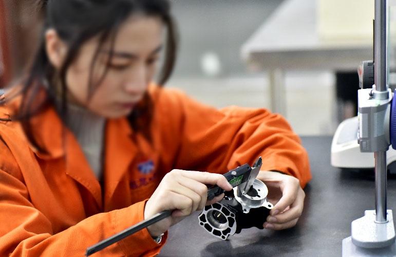Digital caliper inspection-Sunrise Metal