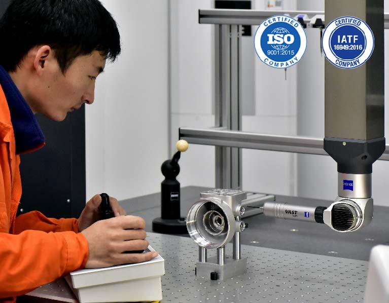 Full-Diemension-Inspection-Zinc-Die-Casting-Manufacturer-Advantage