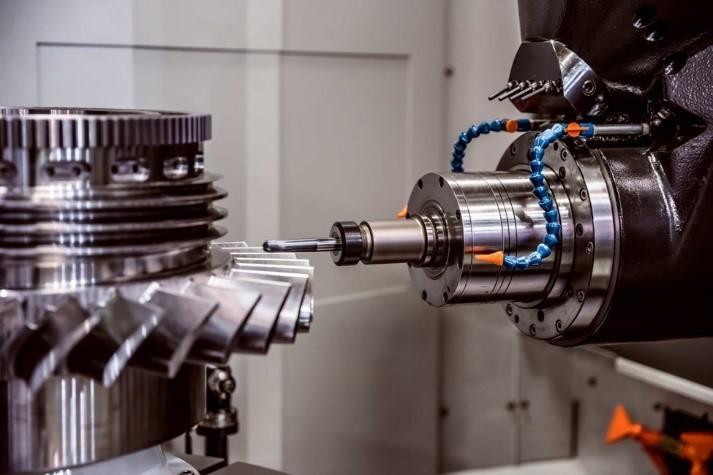 CNC milling machine processing