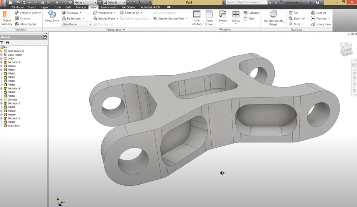 CAD modeling for 5 Axis CNC Machining