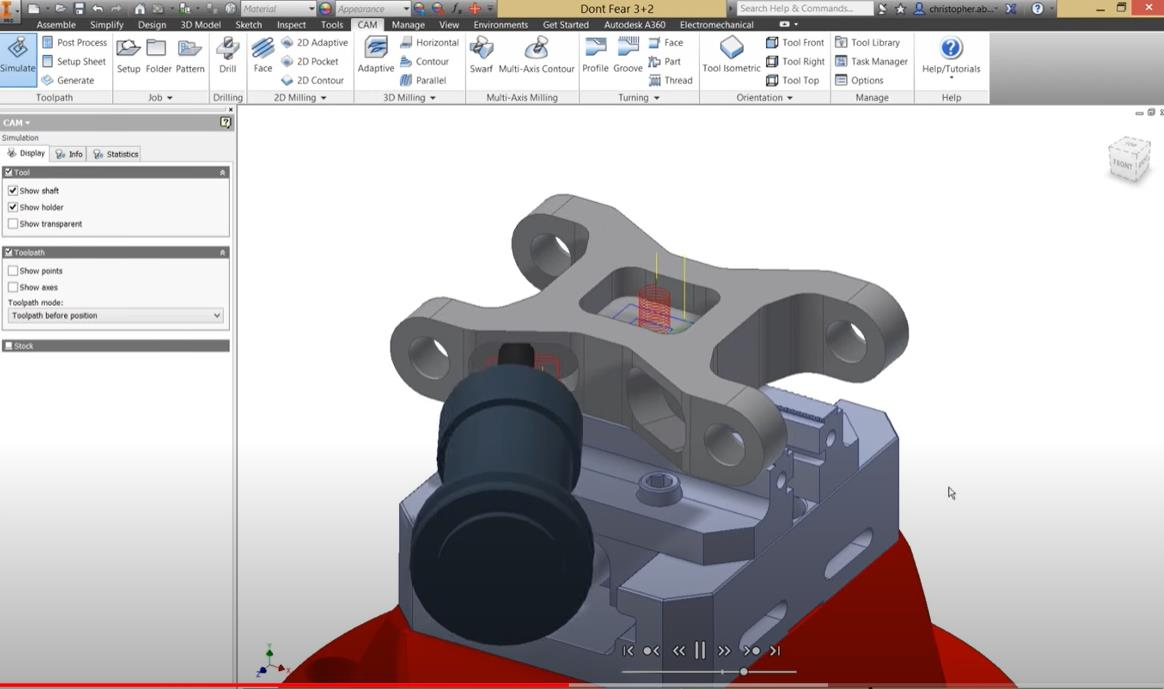 CAM Programming for 5 Axis CNC Machining