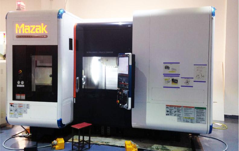 Sunrise Metal's in-house 5 Axis CNC Machine