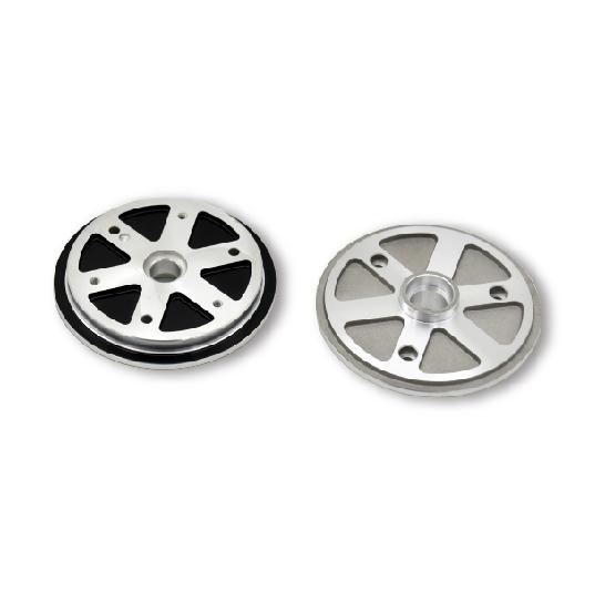 Aluminum-Prototype-Robot-Wheel-Rapid-Manufacturingr-Part