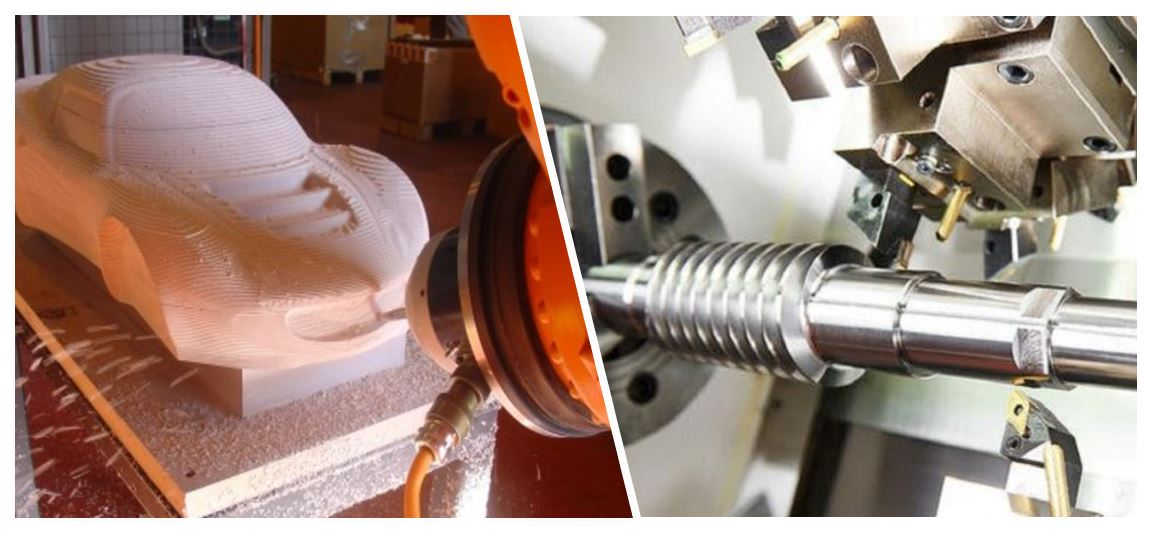 Creating Parts with 7 Axis CNC Machining