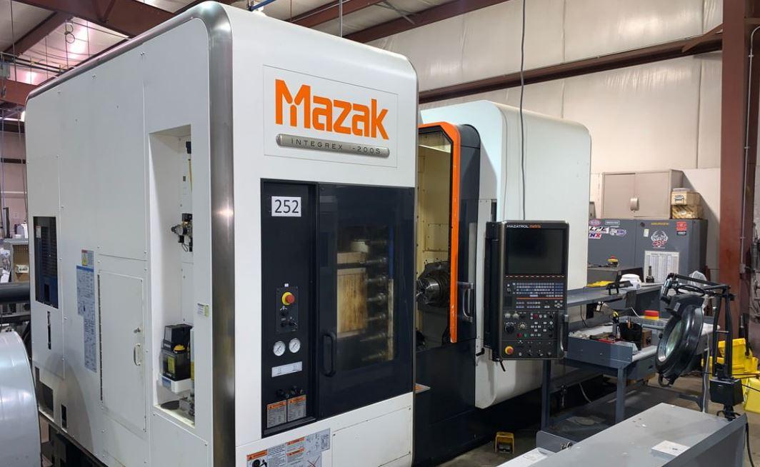 Mazak 7 Axis Milling and Turning Machine