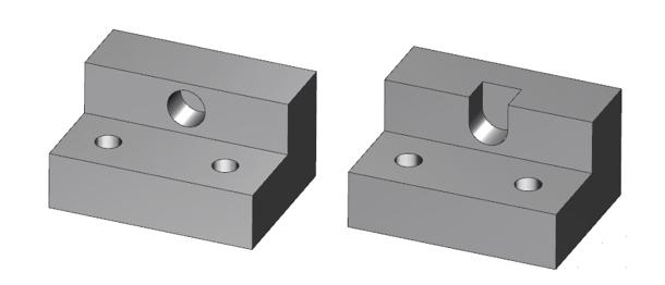 Aluminum Part Redesigned to Remove Core Slide Requirement-