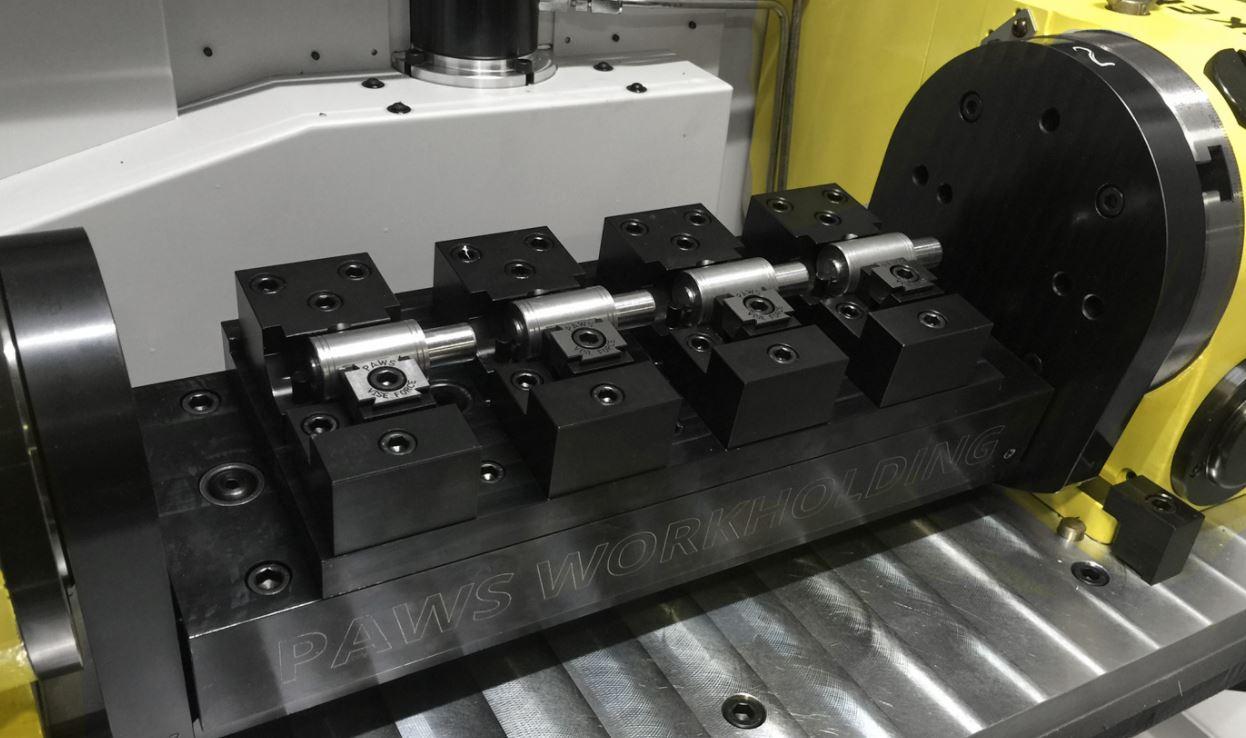 4 Axis Vertical CNC Machining Vise