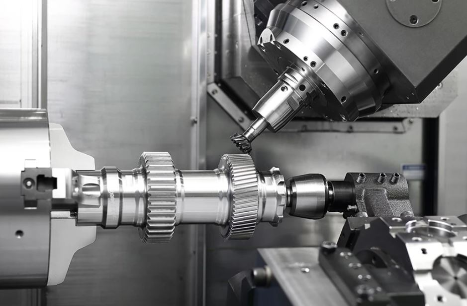 Machining Steel Part with 7 Axis CNC Machining Centers
