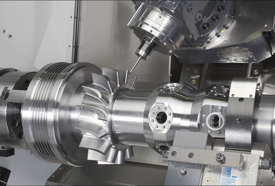 Machining Large Part with 7 Axis CNC Machining Centers