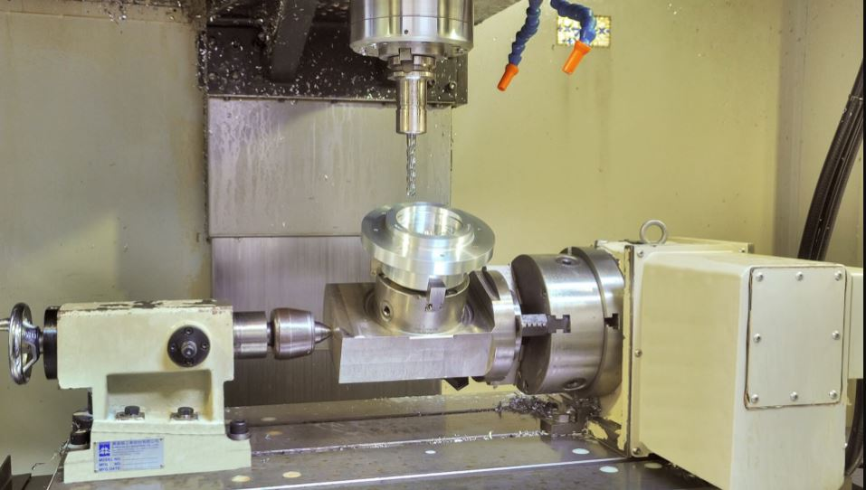 Machining a Part With the 4th Axis