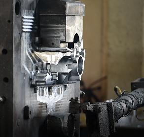 alumium die cast production process