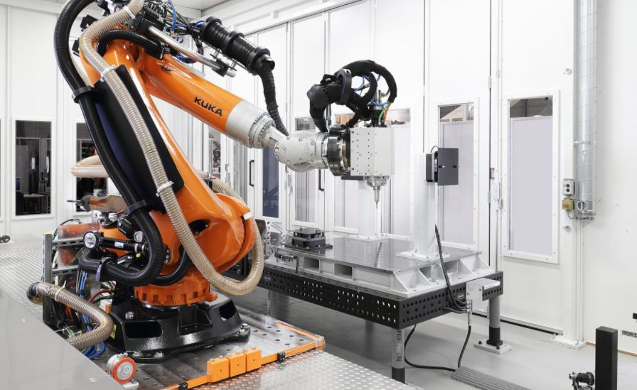 KUKA 7 Axis CNC Machining Robot