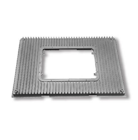 High-Precision-CNC-Machined-Display-Frame-Aluminum-Machining-Service-Part