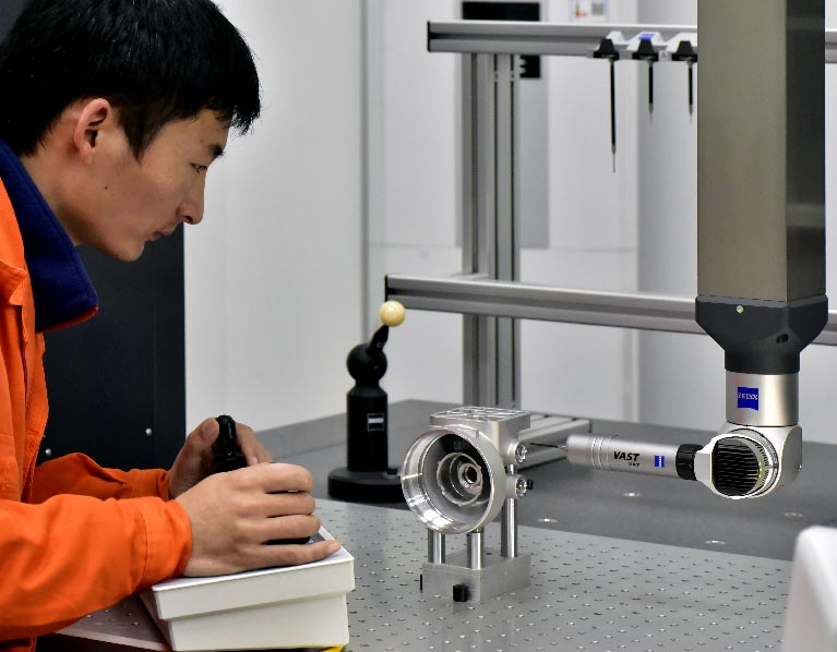 zeiss-CMM-measuring-for-die-casted-parts-quality-control-Low-Volume-Die-Casting