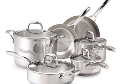 polished cast aluminum cookware