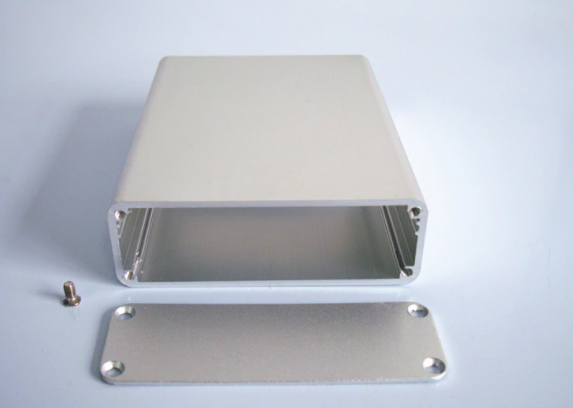polished cast aluminum closure